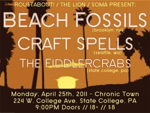 beach fossils penn state