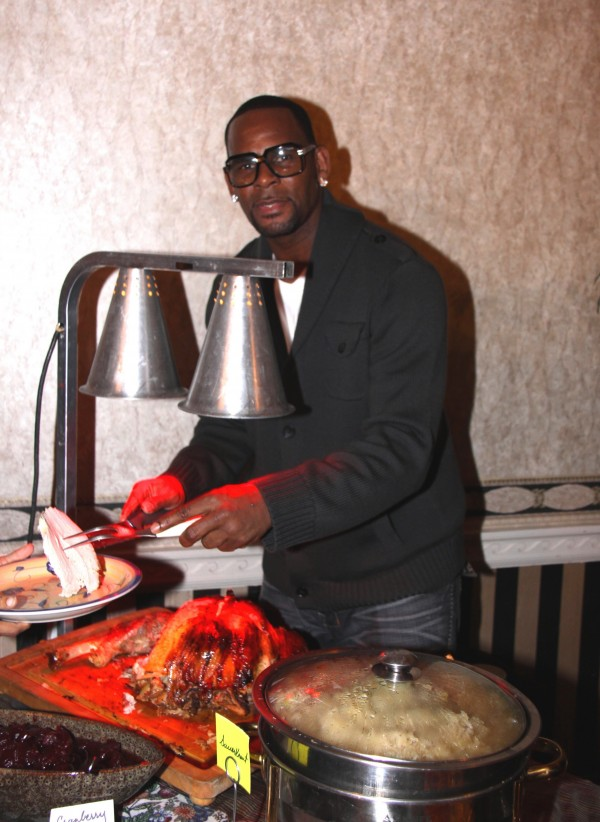 R. Kelly Thanksgiving