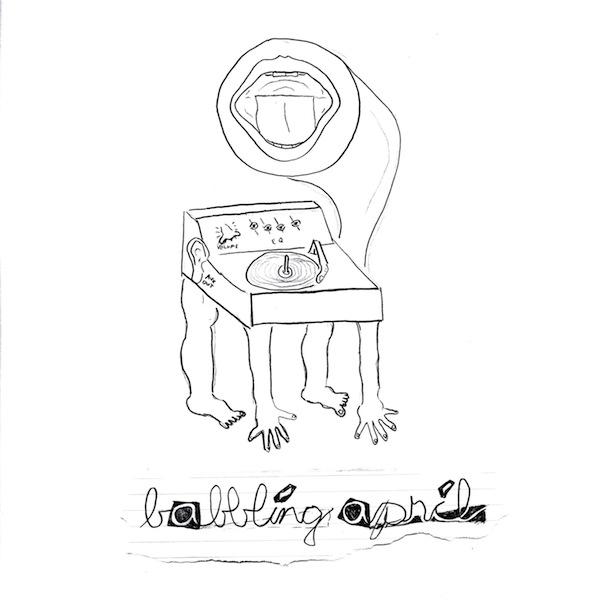 babbling april album art