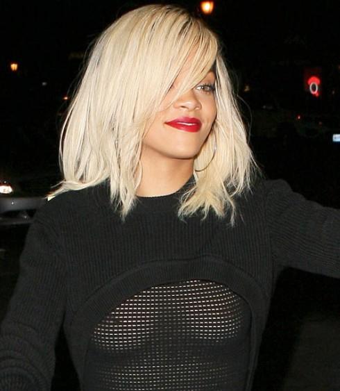 PhotoOp: Rihanna Has A Wardrobe Malfunction