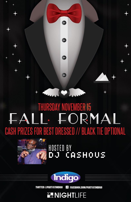 Indigo Formal Featuring DJ Cashous